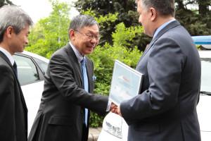 13.05.2015 Япония передает авто для патрульных 1