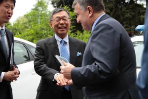 13.05.2015 Япония передает авто для патрульных 2
