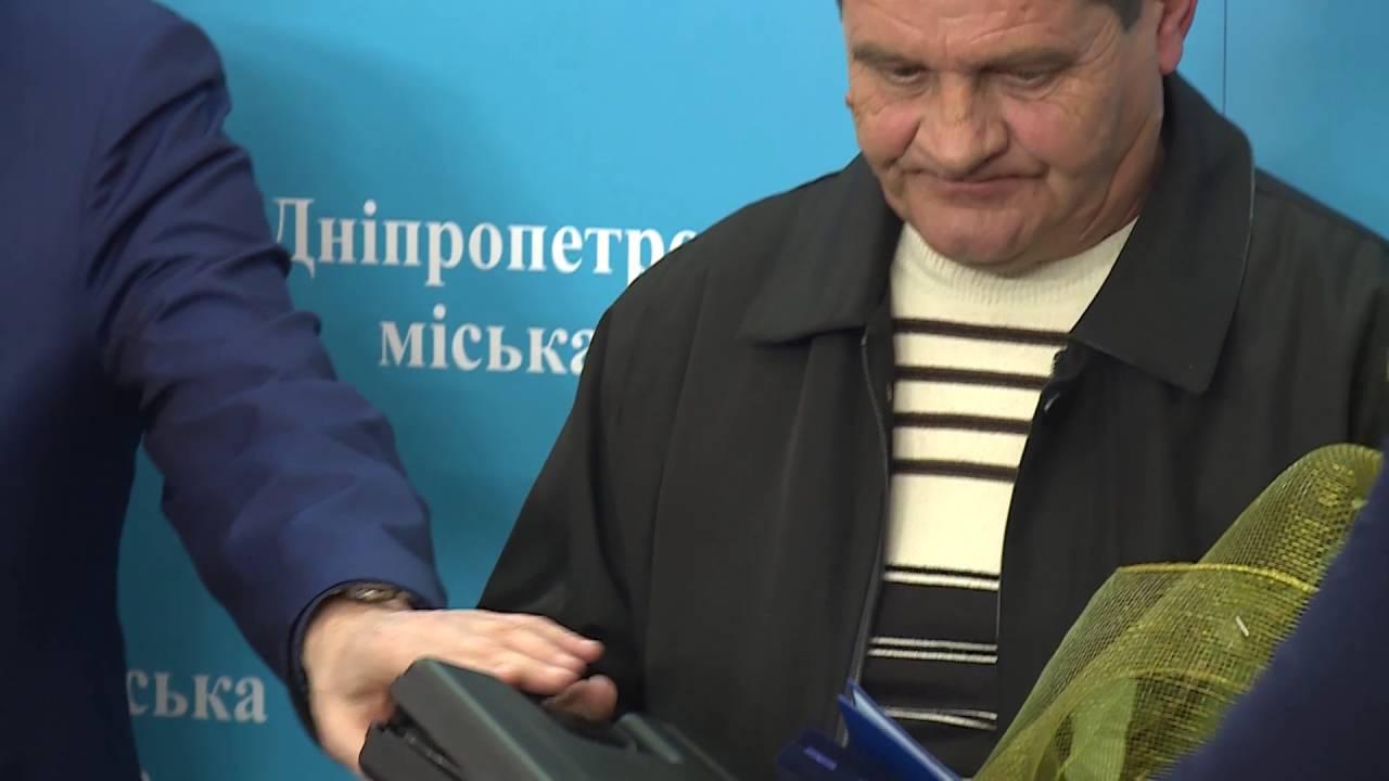 Арсен Аваков о награждении водителя Валерия Тимонина награжданым оружием за мужество во время инцидента в Днепре