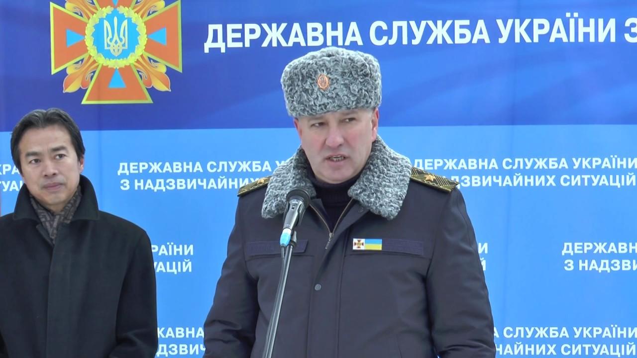 Арсен Аваков: Правительство Китая передало аварийно-спасательное оборудование ГСЧС. Спасибо нашим партнерам!